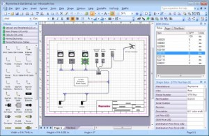 Visimation QuotePix for Visio screen